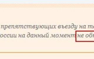 Проверка запрета на въезд в рф иностранным гражданам в 2020 году — узбекистана, уфмс, онлайн, официальный сайт
