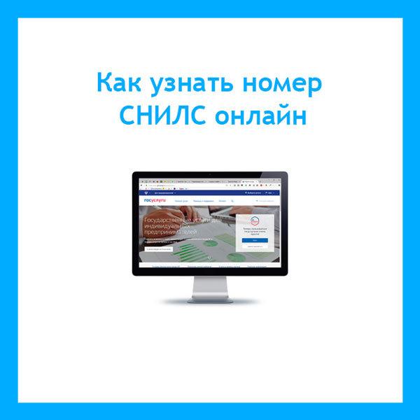 Как узнать СНИЛС по паспорту через интернет на сайте ПФР в 2020 году - онлайн, номер