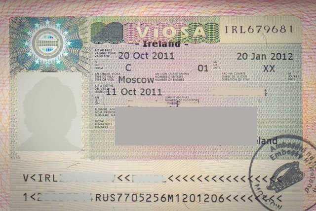 Виза в Ирландию для россиян 2020 году - самостоятельно, стоимость, Шенген, сроки