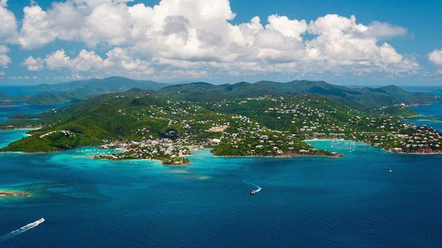 Виргинские острова на карте мира в 2020 году - отдых, климат, достопримечательности, развлечения