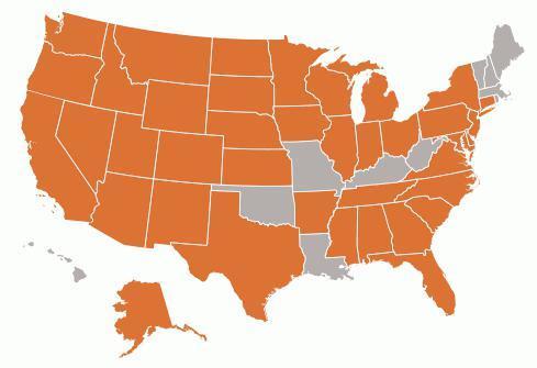 Сколько штатов в США сейчас (Америке) в 2020 году - количество, округ, состав