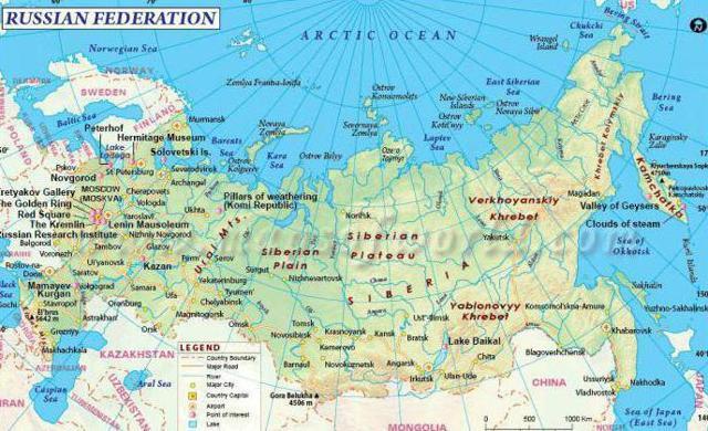 Страны, с которыми граничит Россия в 2020 году - западные, южные, по морю, сухопутные