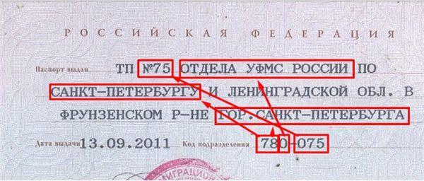 Как узнать код подразделения в паспорте в 2020 году - через интернет, онлайн, Россия, гражданина