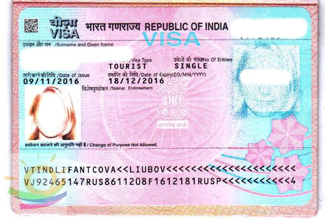 Виза в Индию для россиян через официальный сайт в 2020 году - электронная, самостоятельно