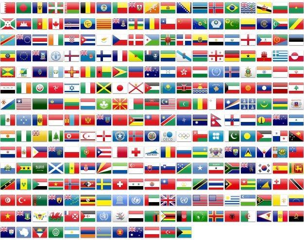 Сколько всего в мире стран в 2020 году - государств, территории, зависимые, непризнанные